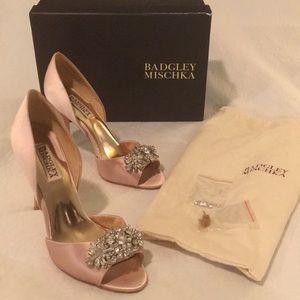 Bartley Mischka Giana shoe Blush